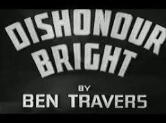Dishonour Bright 1936 DVD - Tom Walls / Eugene Pallette